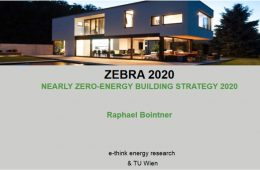 Findings of the IEE project ZEBRA2020